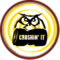 Crushin' It (Level 1) badge logo