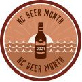 NC Beer Month Passport Tier 1 (2021) badge logo