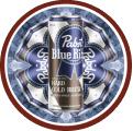 PBR Hard Coffee (Cold Brew) badge logo