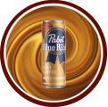 PBR Hard Coffee (Salted Caramel) badge logo