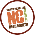 Welcome to NC Beer Month (2021) badge logo